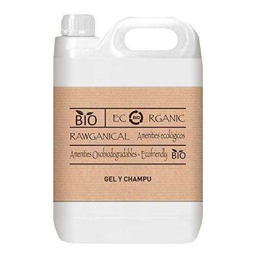 Garrafa 5L gel y champú 2 en 1 | Gel de ducha y champú refrescante | Gel and shampoo | Hair and Body | Envase de 5 litros
