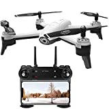 BD.Y Drone,RC Drone 4K HD Camera Live Broadcast, Optical Flow Aerial 4K Drone Dual Camera Remote Control Aircraft Long Battery Life for Beginners Children