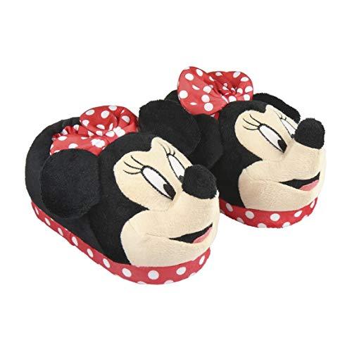 Artesanía Cerdá 2300004416 Pantuflas Minnie Mouse, Niña