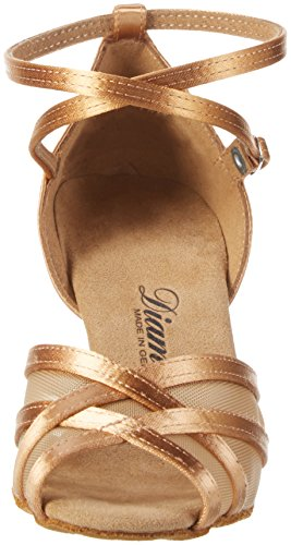 Diamant Damen Tanzschuhe 035-108-087 Standard & Latein, Beige (Bronze), 38 2/3 EU (5.5 UK) - 2