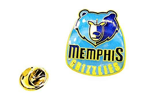 Gemelolandia | Pin de solapa NBA Memphis Grizzlies 25mm | Pines Originales Para Regalar | Para las Camisas, la Ropa o para tu Mochila | Detalles Divertidos