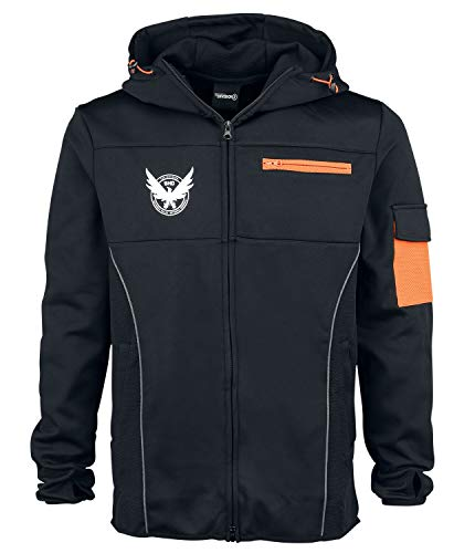 Tom Clancy's The Division M65 Männer Kapuzenjacke schwarz/orange M