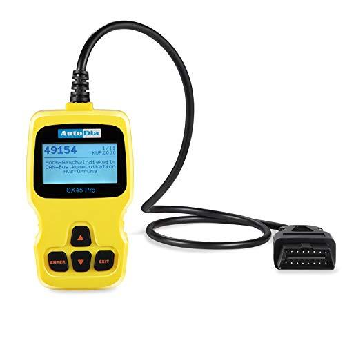 AutoDia SX45 PRO - Can Bus Diagnose Handscanner OBD2