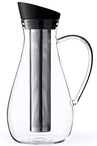 Glass Infuser Water Pitcher: Great Iced Tea Infuser.