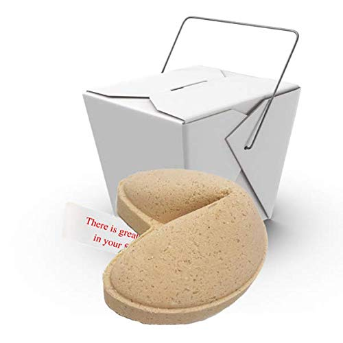 GIANT FORTUNE COOKIE Bath Bombs Extra Large, Extra Moisturizing, Made in the USA (Oatmeal Milk & Honey)