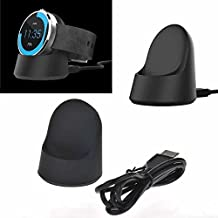 Paddsun Moto 360 Charger Dock - Wireless Charging Charger Dock, Cradle, Stand for Motorola Moto 360 46mm Smart Watch, A Micro USB Cable Included