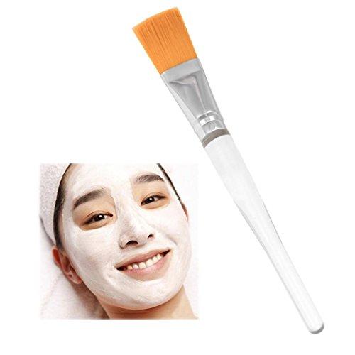 bescita transparente Handle visage masque Beauty Masque mélanger Pinceau de maquillage Brosse douce Kit