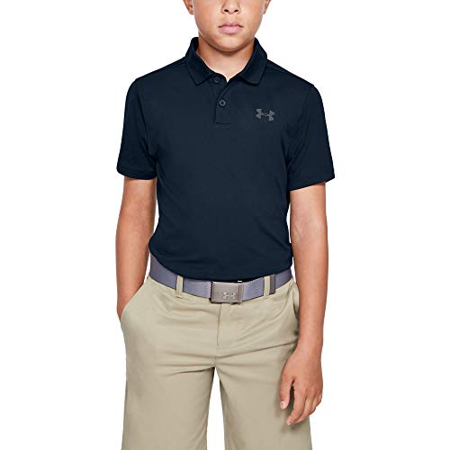 Under Armour Kinder Performance 2.0 Poloshirt, Blau, YSM