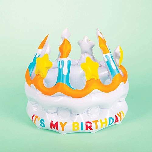Fizz Creations 0685M - Corona Gonfiabile It's My Birthday, Multicolore