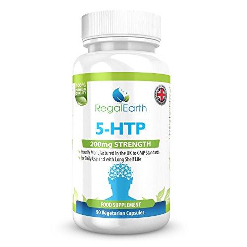 5-HTP 200mg cápsulas vegetarianas para...