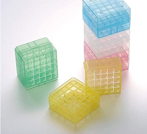 CryoKING PP Sale Special Price Cryogenic Boxes-2in Poly Colors low-pricing 25-Wells Assorted