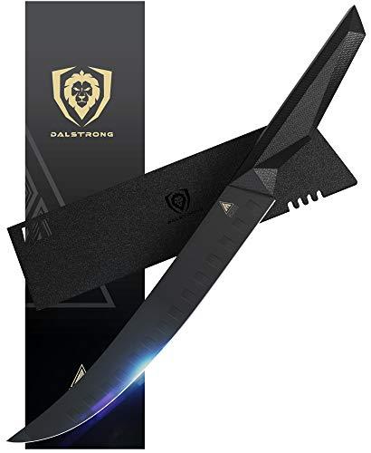 DALSTRONG - Shadow Black Series - Black Titanium Nitride Coated German High Carbon Steel - Sheath - NSF Certified
