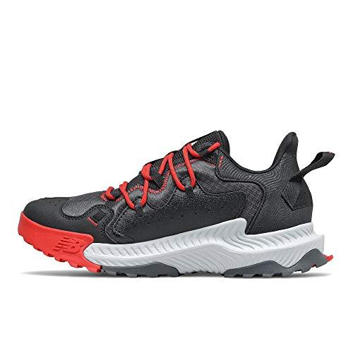 New Balance Mens DynaSoft Shando V1 Trail Running Shoe OuterspaceBlackVelocity Red 8