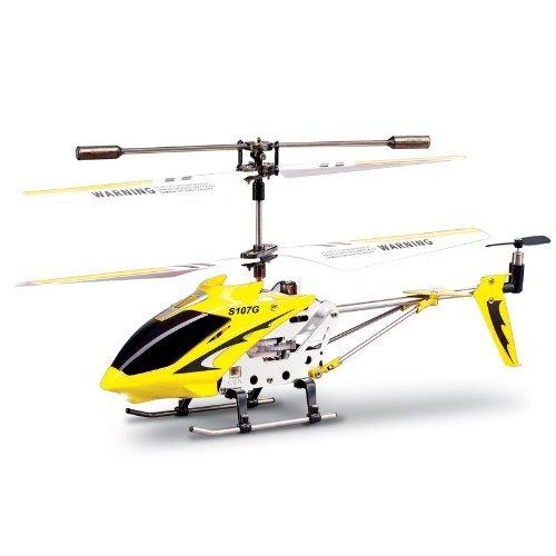 Syma S107 Gyroscope Stabilizing System Aluminium I/R Controlled USB Helicopter [UK-Import]