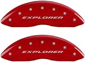 MGP Caliper Covers 10229SXPLRD Red Caliper Cover