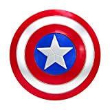 DMAR Captain America Shield for Kids 12 inch Marvel Legends Captain America Toy Shield Avengers Legends Escudo del Capitan America Prop Replica for Children Cosplay