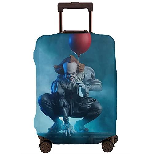 It Pennywise - Funda protectora para maleta, lavable, diseño de impresión 3D, 4 tamaños para la mayoría de equipaje con cremallera