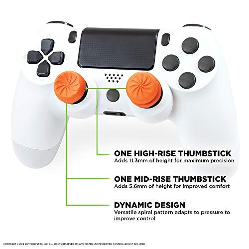 KontrolFreek FPS Freek Vortex Performance Thumbsticks for PlayStation 4 Controller (PS4)