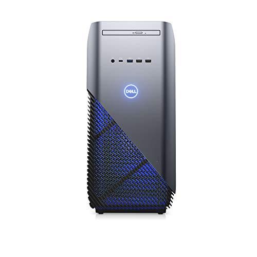 Dell Inspiron 5680 Desktop-PC (Intel Core i5, 8 GB RAM, 1 TB HDD, NVIDIA GeForce GTX 1050 Ti 4 GB, Windows 10 Home) zwart