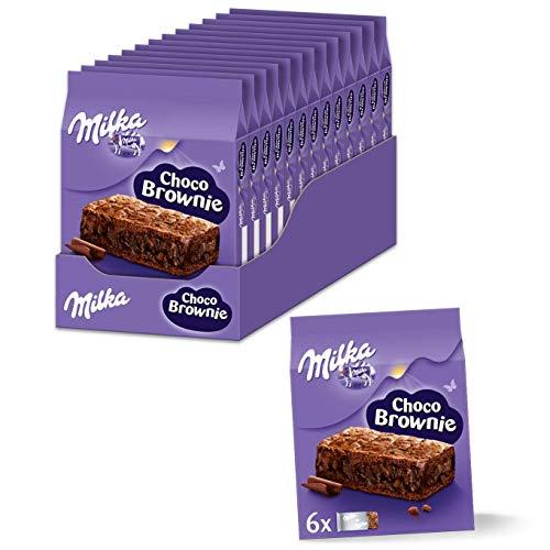 Milka Choco Brownie 13 x 150g, Einzeln verpackte Schokoladenkuchen von Milka