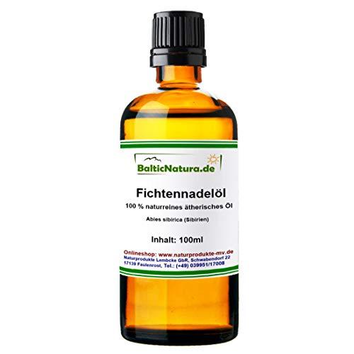 Fichtennadelöl (100 ml) 100% naturreines ätherisches Fichtennadel Öl