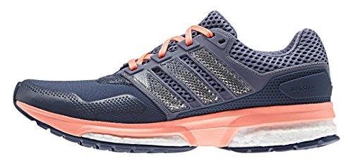 adidas Damen Response Boost 2 Techfit Women Laufschuhe, Azul/Morado/Rojo (Azumin/Morsup/Brisol), 36 2/3 EU