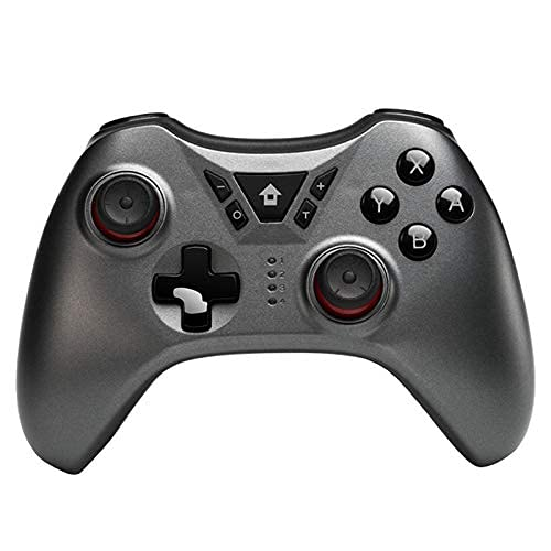 DealMux New Switch Pro Controller inalámbrico Gamepad Joystick para Switch NS para PS3 / PC/Android/Steam (gris)