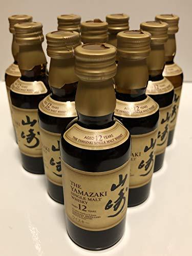 サントリー 山崎 12年 50ml 10本セット ミニチュアボトル