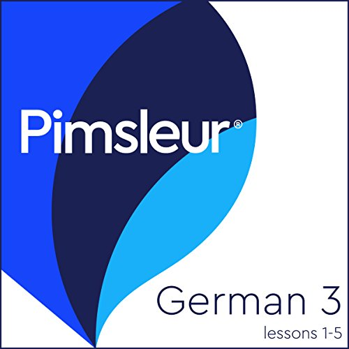 Pimsleur German Level 3 Lessons 1-5 audiobook cover art