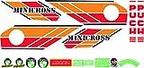 Kit de adhesivos motos clasicas Puch MINICROSS Super 3 - Juego Pegatinas Completo - Vinilo para Moto, máxima Calidad.