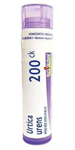 Boiron Urtica Urens 200CK, 80 Pellets, Homeopathic Medicine for Skin Rash