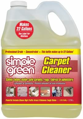 SUNSHINE Award MAKERS Simple Green Carpet Clear Cleaner Oklahoma City Mall