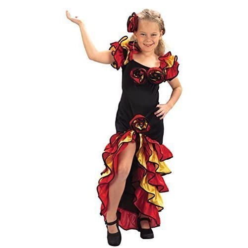 057d7f38d Bristol Novelty Rumba Girl Costume (L) Childs Age 7 - 9 Years