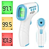 Non-Contact Infrared Forehead Thermometer Reads F and C with Fever Alert for Baby Adults and Surface Digital Medical Infrared Ear Instant Results for Medical Hospital Use