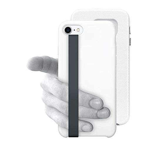 Fingerhalter NINJA LOOP für Handy/Smartphone für Eine Bessere und sichere Einhandbedienung | Phone Case Strap Handy Loops NINJA LOOP | Neuheit Smartphone Zubehör (Grau)