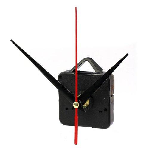 Uhrwerk Wanduhr,BBTXS Lautloses DIY Reparieren Teile schleichendes Uhrwerk mit Zeiger-Sets (Quarzuhrwerke)