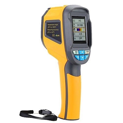 HT-02D Handheld IR Thermal Imaging Camera Digital Display 1024P 32x32...