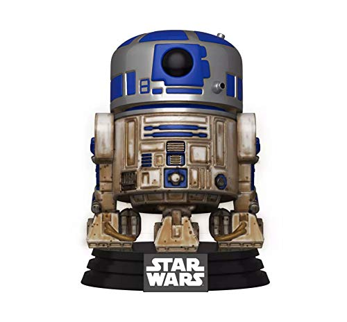 Funko 49810 Pop Star Wars-Dagobah R2-D2 Juguete Coleccionable, Multicolor