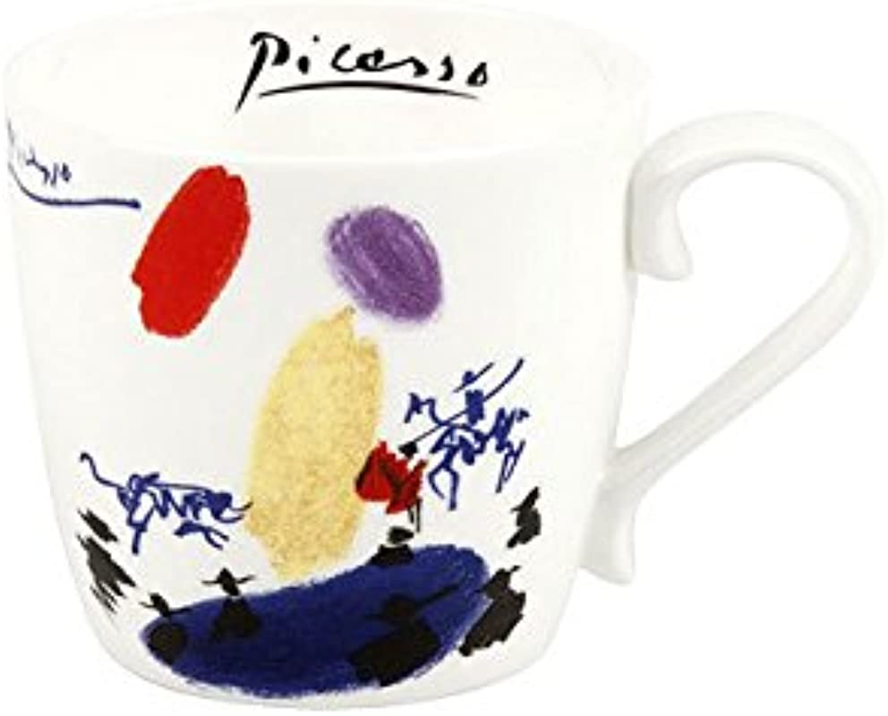 Konitz 4520570123 Assorted Picasso Bone China Mugs Set Of 5 Multi