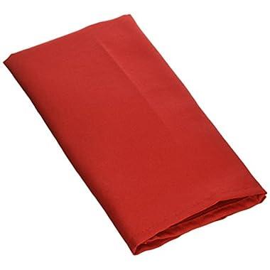 Lann's Linens 1 Dozen 20  Cloth Dinner Table Napkins - Red Fabric