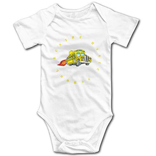 U are Friends Combi-Pantalon bébé à Manches Courtes pour bébé Magic Barbie 2Girl Boy Kid Baby(12M,Blanc)
