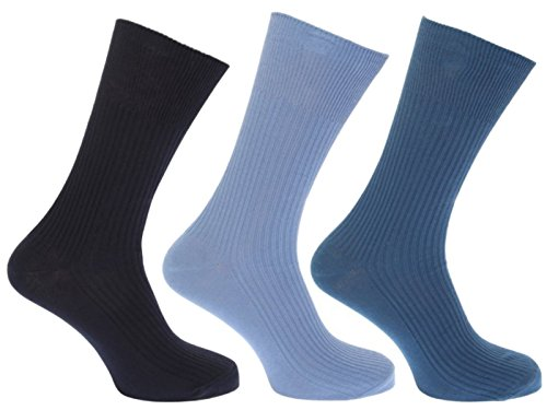 Hosiery-Direct-UK®Herren Socken Schwarz Mixed Fashions