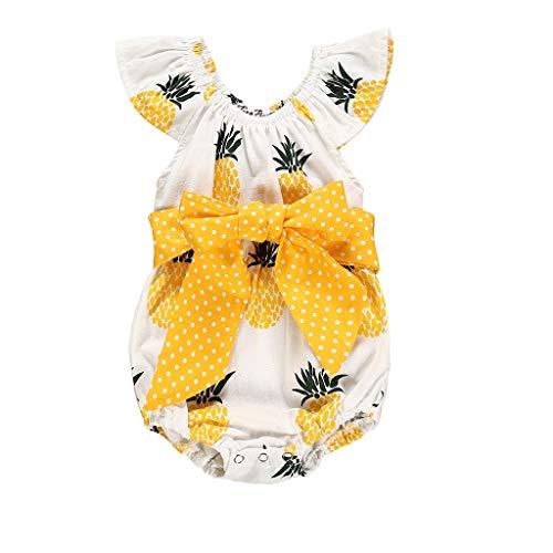HEETEY Pijama para niña, recién Nacido, bebé, niña, niñ