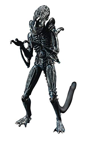 Hiya Toys Aliens: Blue Alien Warrior 1:18 Scale Action Figure, Multicolor