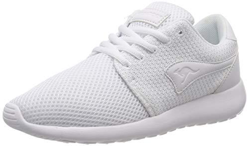 KangaROOS Damen Mumpy Sneaker, Weiß (Offwhite 0100), 38 EU
