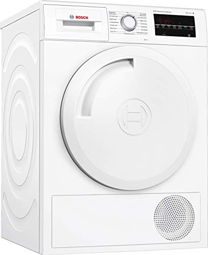 Bosch WTW84443 Serie 6 Wärmepumpen-Trockner / A+++ / 176 kWh/Jahr / 8 kg / Weiß / AutoDry / SelfCleaning Condenser™ / SensitiveDrying System