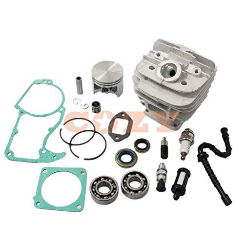 Kit de pistón cilíndrico de 48 mm para motosierra Stihl 036 MS360 con puerto Decom. 1125 020 1215