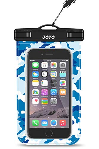 JOTO Universal Waterproof Pouch Cellphone Dry Bag Case for iPhone 12 Pro Max 11 Pro Max Xs Max XR X 8 7 6S Plus SE, Galaxy S20 Ultra S20+ S10 Plus S10e /Note 10+ 9, Pixel 4 XL up to 6.9