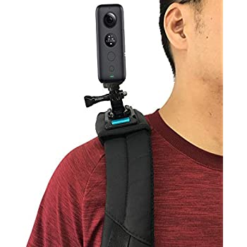 Action Camera Accessories Kit Portable Head Strap Wrist Strap Climbing Mount for Insta360 ONE X and ONE Accessories