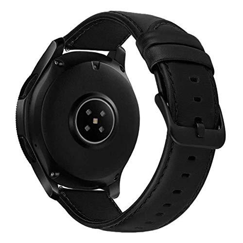 SM-R600 TPE schwarz für Samsung Gear Sport Smartwatch Armband 20mm Silikon